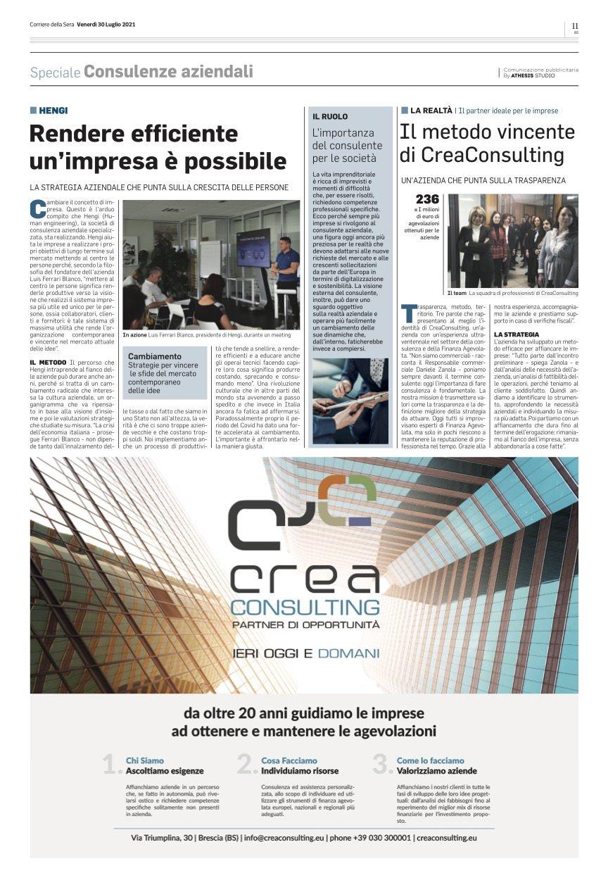 Corriere della Sera Brescia